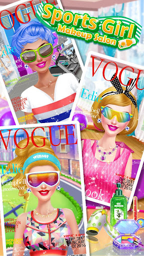 ud83dudc67ud83dudc57Sports Girl Makeup - Keep Fit  screenshots 22