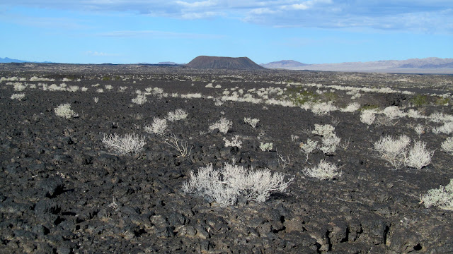 Amboy Crater and lava flow