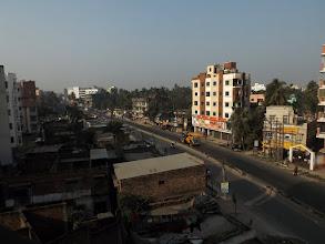 Photo: Ankunft in Kolkatta - Blick aus unserem Fenster