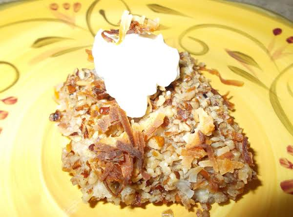 Nutty Peach Crisp Recipe
