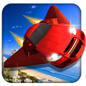 Flying Car Air Racing Stunt 3D