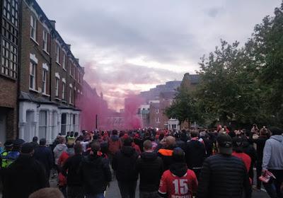 Les fans de Francfort attendent les Rouches, la police allemande veille au grain