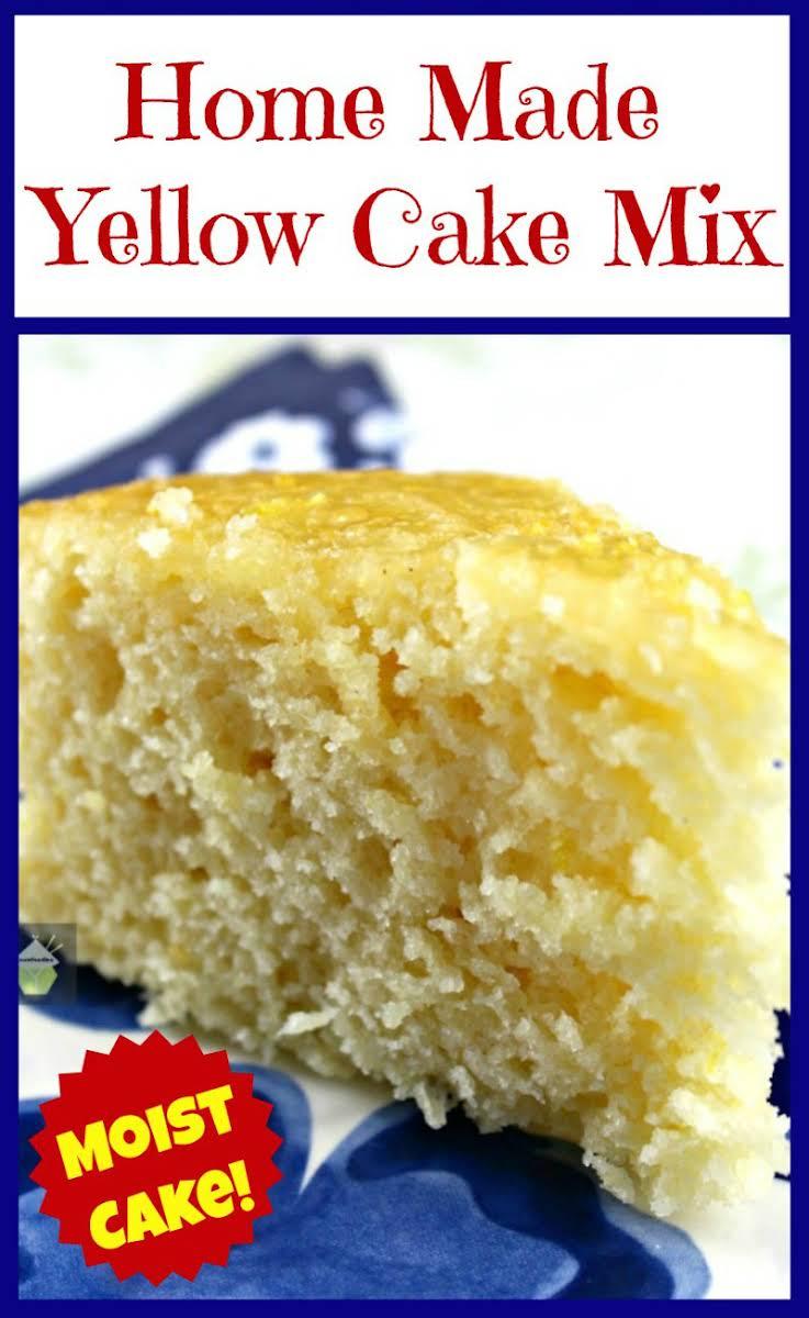 Homemade Cake Mix Recipe All Purpose Flour