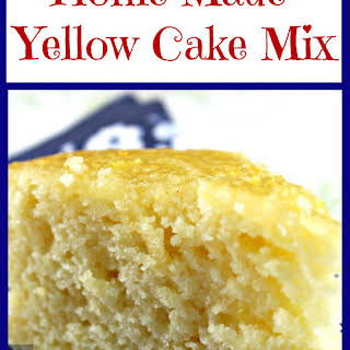 Home Made Yellow Cake Mix.
