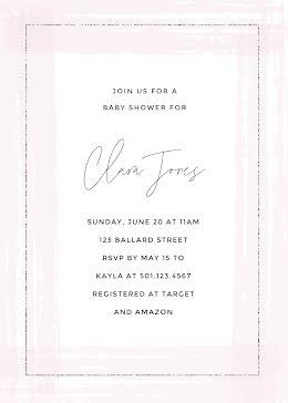 Clara Jones Baby Shower - Baby Shower item