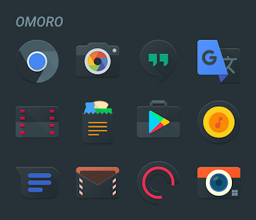 Omoro - Icon Pack Screenshot