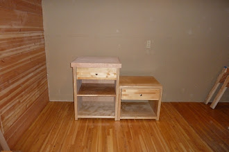 Photo: End Tables/Stair Cabinets