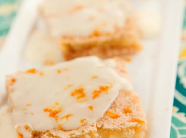 Orange Citrus Bars