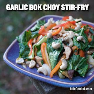 Garlic Bok Choy Stir-Fry