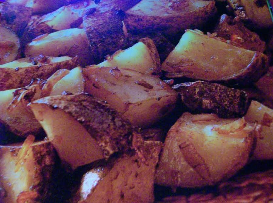 Onion Roasted Potatoes By Freda Recipe | Just A Pinch Recipes