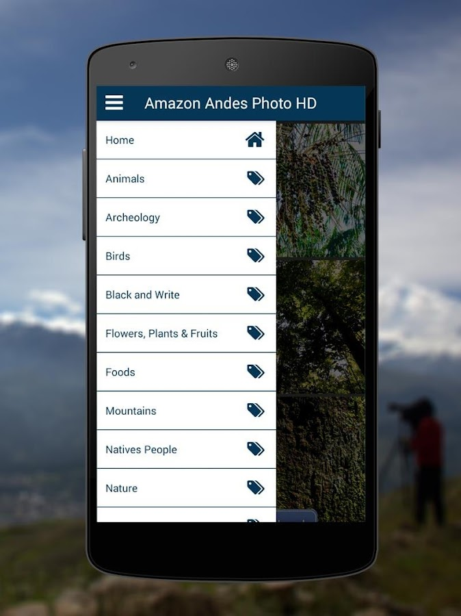 Amazon Andes Photo HD- screenshot