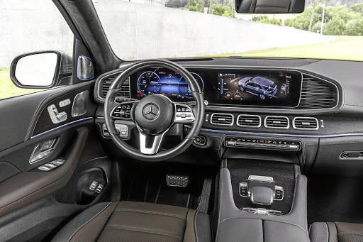 Much like the new A-Class the interior is a tech fest of gizmos and gadgets. Picture: SUPPLIED