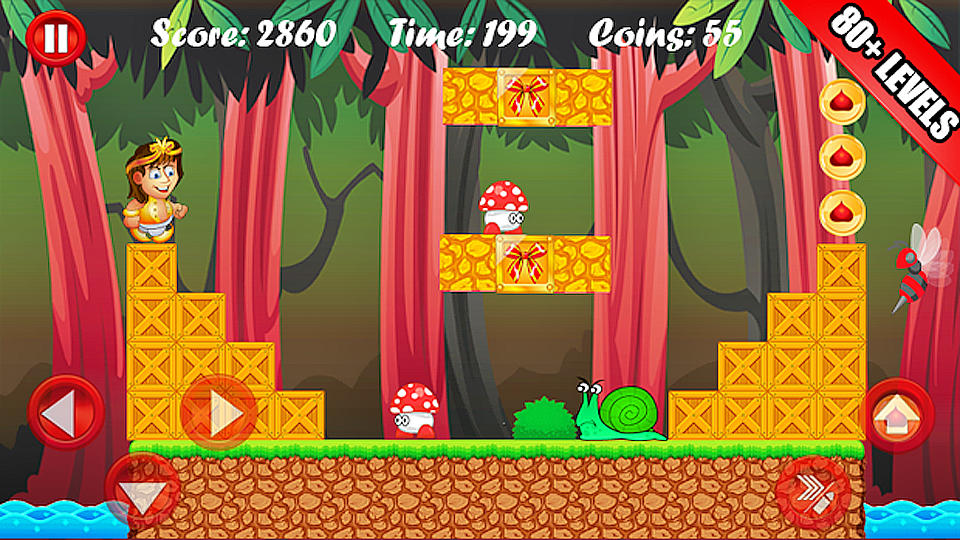 Jungle Castle Run X screenshot 10