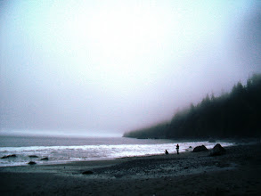 Photo: Where fog rolls in and fires the imagination