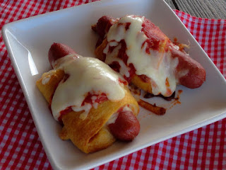 Pepperoni Pizza Dogs Recipe