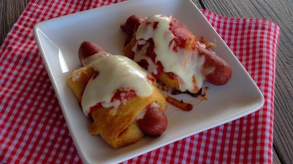 Pepperoni Pizza Dogs Recipe