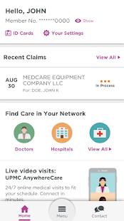 UPMC Health - náhled