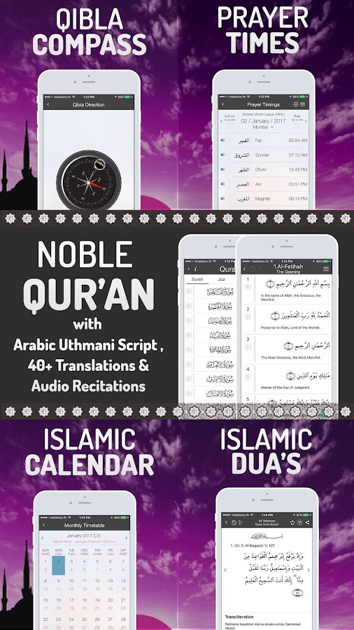 Islamic Calendar: Athan, Prayer time, Qibla, Quran- screenshot