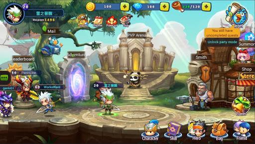 Genki Heroes 1.0.5 screenshots 1
