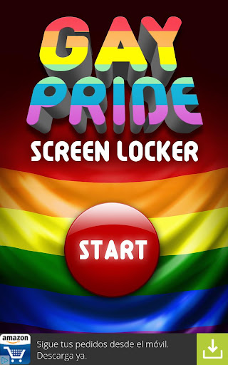 Gay Pride 2015 Flag