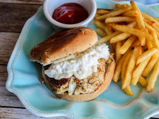 Crab Cake Sandwiches Recipe