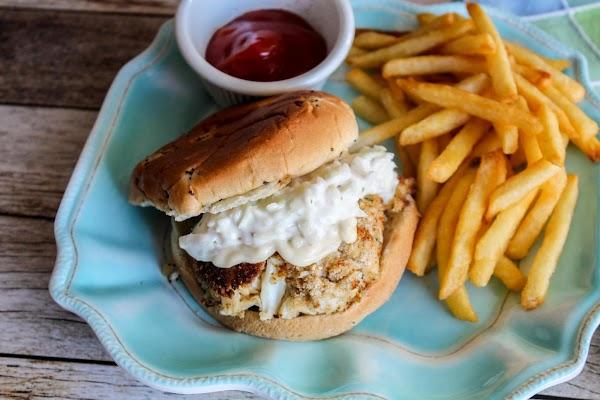 Crab Cake Sandwiches Recipe