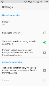 Transcriber for WhatsApp Download For Android 6