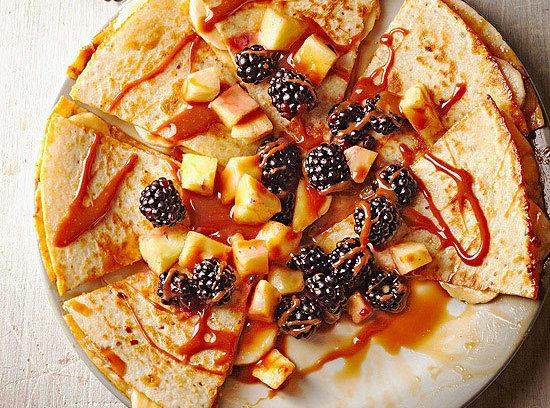 Cajeta Quesadillas With Fruit Salsa Recipe