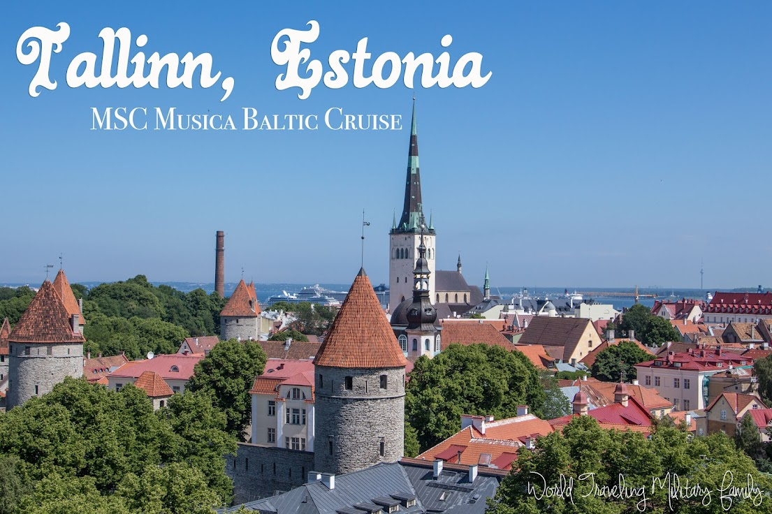 Tallinn, Estonia - MSC Musica Baltic Cruise