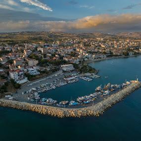 Port of Selimpasa by Arda Erlik - City,  Street & Park  Skylines ( port, sony, selimpasa, skyline, silivri, sunset, harbour, arda erlik, summer, turkey )