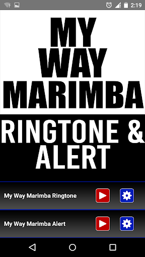 My Way Marimba Ringtone Alrt