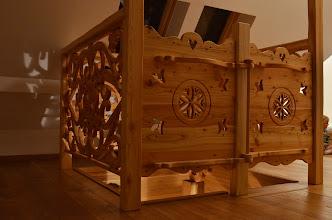 Photo: Góralska bramka furtka drzwi drzwiczki z drewna drewniane