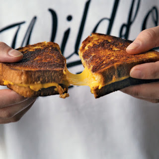 Grilled Cheese a la Pauly Carmichael.