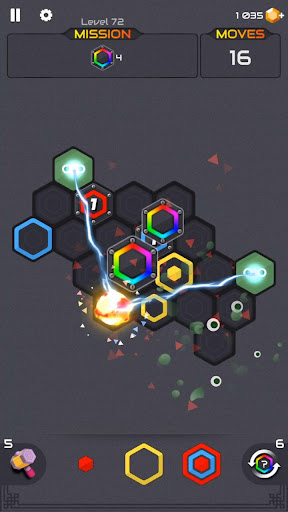 Princess and Zombies -Puzzle Hexa Blast apktram screenshots 1