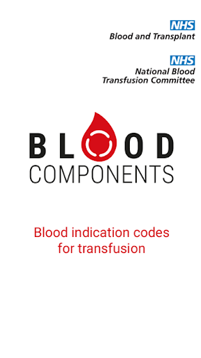 Blood Components screenshot for Android