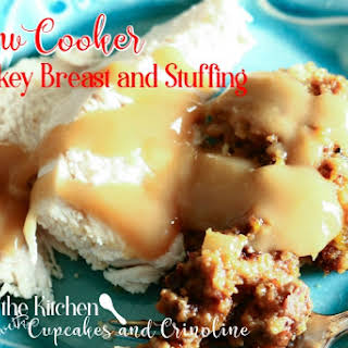 Slow Cooker Turkey and Stuffing.