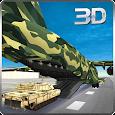 Army Cargo Plane Airport 3D apk