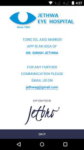 Toric IOL Axis Marker