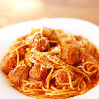 Pressure Cooker Spaghetti and Meatballs.