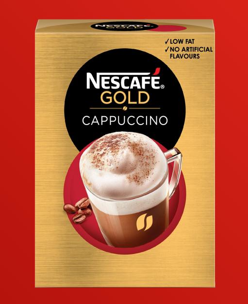 5. Nescafe Gold Cappuccino