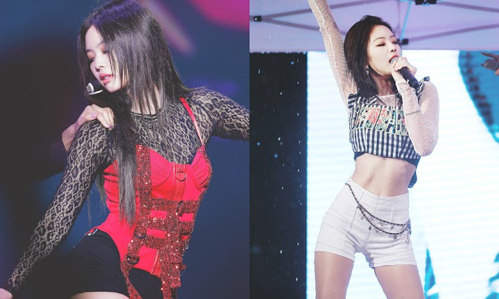 8effbc2caf 20 Times BLACKPINK's Jennie Showed Off Her Perfect Body Line - Koreaboo