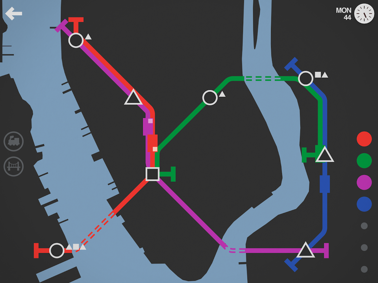 Mini Metro- screenshot