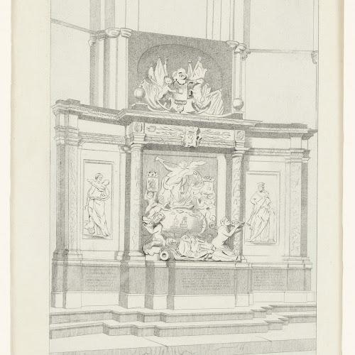 Graf Van Michiel De Ruyter In De Nieuwe Kerk Te Amsterdam