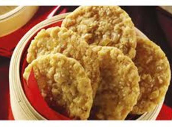 Coconut Ginger Rice Crispy Cookies Recipe