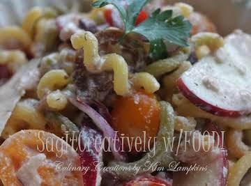 Rainbow Quinoa Pasta