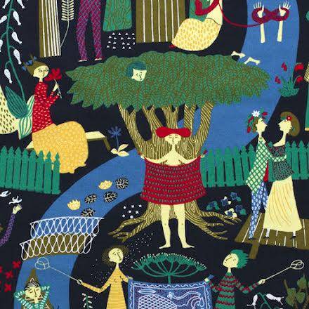 Lustgården av Stig Lindberg - svart