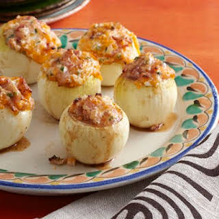 Grilled Stuffed Onions.