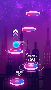 Beat Jumper MOD APK EDM up! 2.3.3 [Unlimited Gems + Unlocked Ball] 3