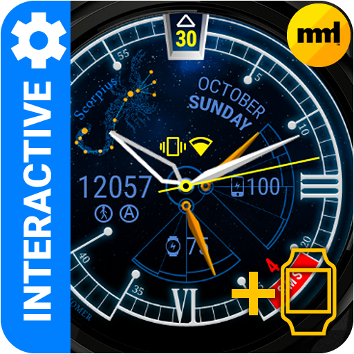 Watch Face Astronomer