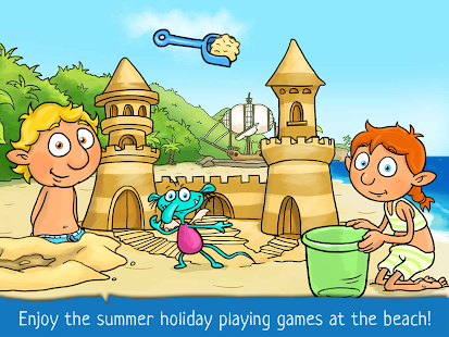 Kids Games and Story - The Zwuggels Beach Holidays- screenshot thumbnail
